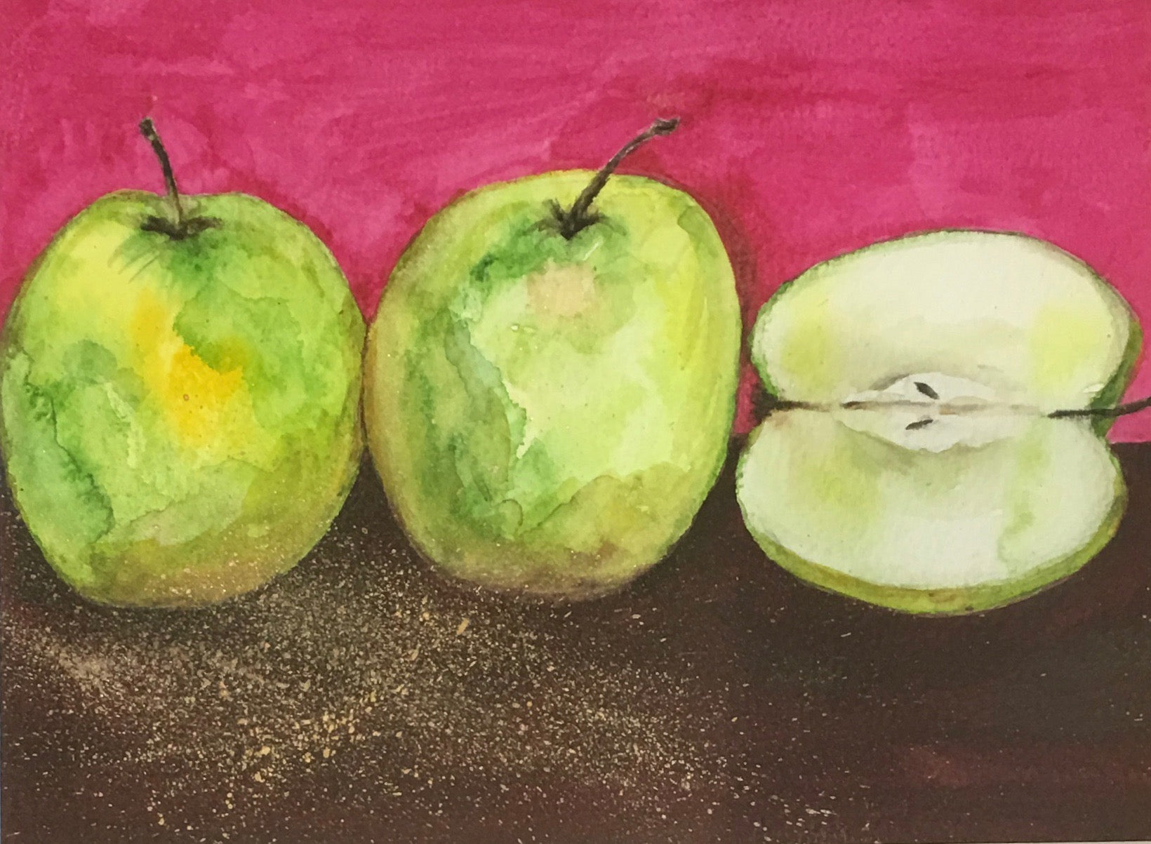 Little Green Apples II