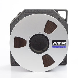 "ATR Master Tape 1"" x 2500 Ft, 10.5"" Slotted Plastic Reel, NAB Hub, TapeCare™ Box"