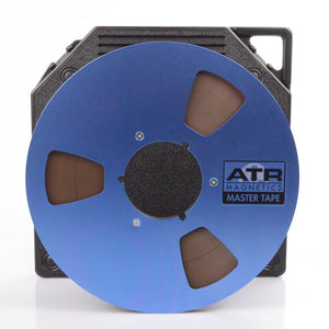 "ATR Master Tape 1/4"" x 2500 Ft, 10.5"" Slotted Plastic Reel, NAB Hub, TapeCare™ Box"