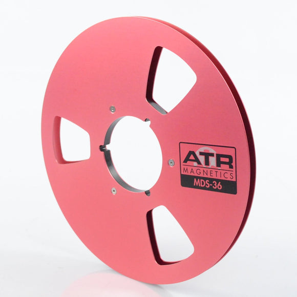 ATR Empty Reel, 1/4″ x 10.5″ Metal Reel, Cardboard Box