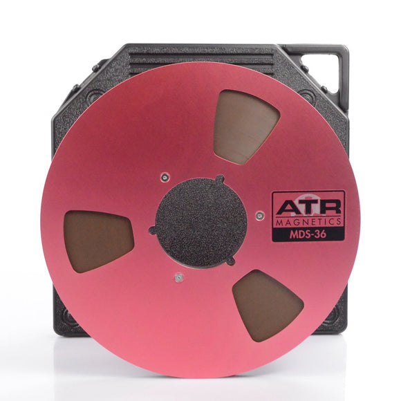 ATR MDS-36 Tape, 1/4″ x 3600′, 10.5″ Metal Reel, NAB Hub, TapeCare™ Box