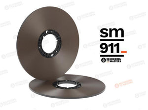 "RTM SM911 1/4"" x 3608 ft, 12"" Pancake Reel, NAB Hub, ECO Pack Box"