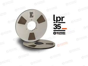 "RTM LPR35 1/4"" x 3608 Ft, 10.5"" Metal Reel, NAB Hub, Hinged Box"