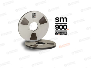 "RTM SM900, 1/2"" x 2500', 10.5"" Metal Reel, NAB Hub, Hinged Box"