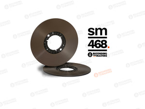 "RTM SM468 1/4"" x 3650 ft, 11"" Pancake Reel, NAB Hub, ECO Pack Box"