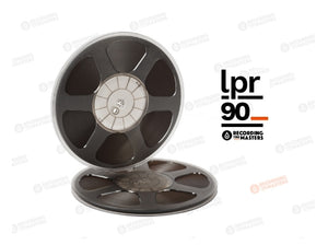 "RTM LPR90 1/4"" x 3608 Ft, 10.5"" Precision Reel, Trident Hub, Hinged Box"