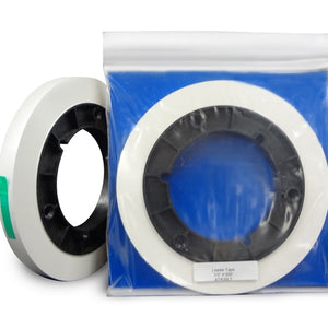 "ATR Leader Tape, 1/2"" x 500', Precision Cut Roll, 3"" Core, White"
