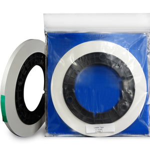 "ATR Leader Tape, 1/4"" x 500', Precision Cut Roll, 3"" Core, White"
