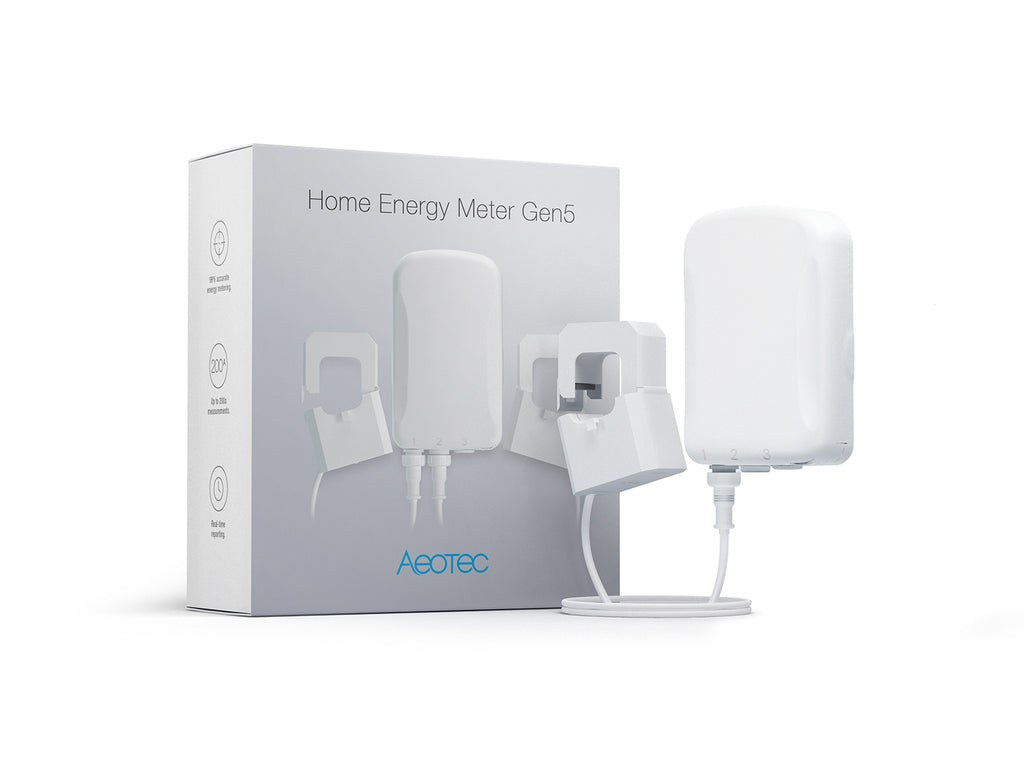 Aeotec Home Energy Meter Gen5, Z-Wave Plus 1 Phase 60A