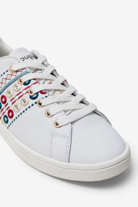 Desigual Exotic Embroidered Sneaker