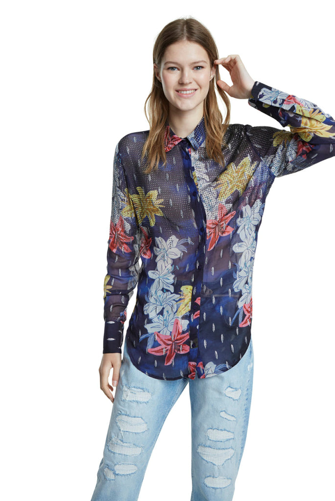 Desigual Applique Shirt