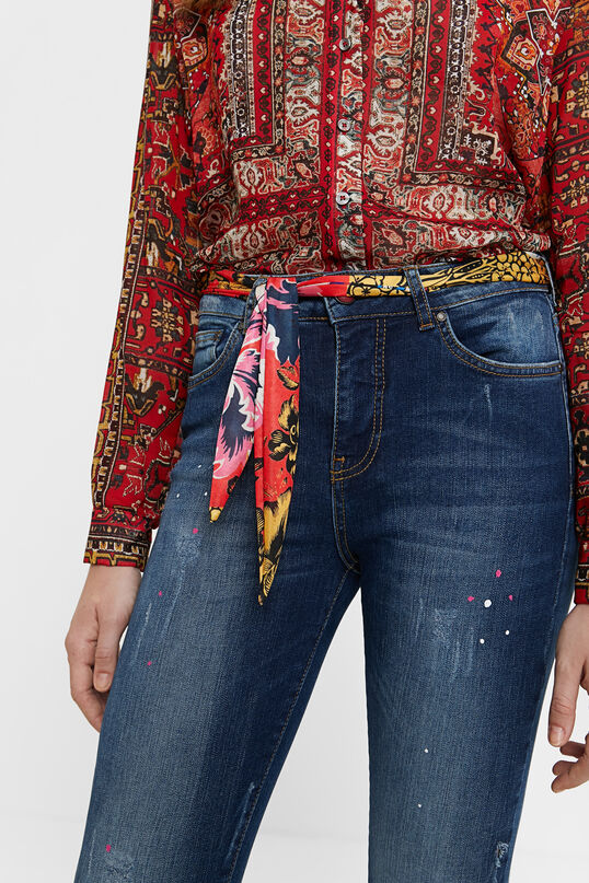 Desigual Denim Ankle Jeans