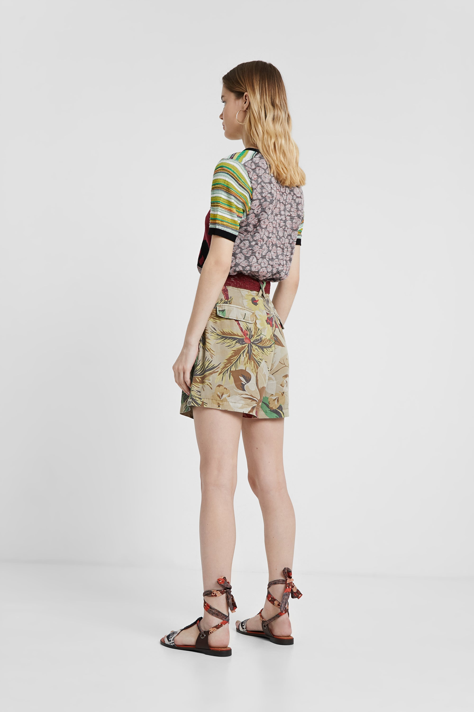 Desigual Bermuda Safari Shorts