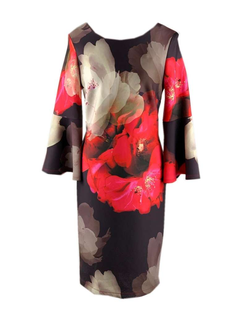 Frank Lyman Bell Sleeve Dress