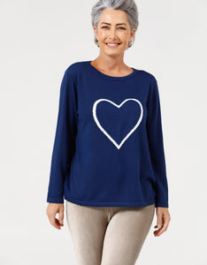 Brave + True Petra Heart Knit