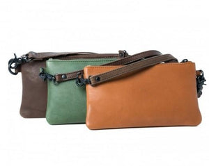 Rugged Hide India Leather Clutch