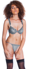 Women's Mesh Bra with G-String 2 Piece Set #1026