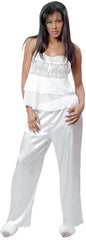 Women's Plus Size Lace Camisole Pajama Set #2049X
