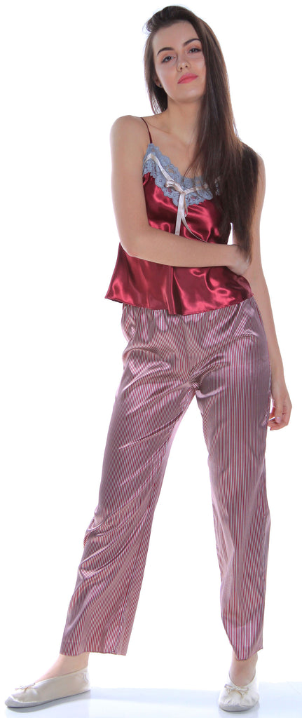 53be2b9bb9d Women s Satin Camisole Pajama Set  2067 – shirleymccoycouture