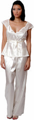 Women's Charmeuse Camisole Pajama Set #2078
