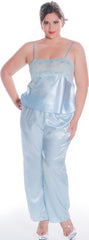 Women's Plus Size Charmeuse Camisole Pajama Set #2100X