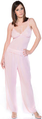 Women's Georgette Camisole Pajama Set #2104