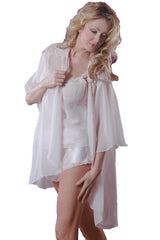 Women's Bridal Chiffon Short Jacket #235C