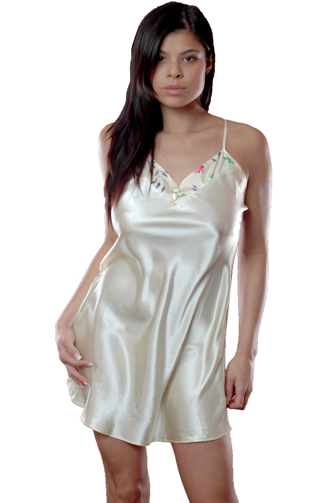 Vx Intimate Womens Charmeuse Nightgown #6025 at Amazon