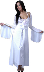 Women's Plus Size Chiffon Long Robe #3038X