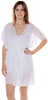 Women's Chiffon Short Wrap Robe #3073