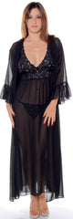 Women's Chiffon Long Robe #3074