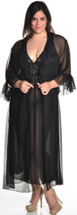 Women's Plus Size Chiffon Long Robe #3074X