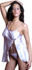 Women's charmeuse Babydoll with G-string #5043