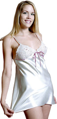 Women's Charmeuse Babydoll with G-string #5075