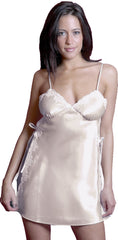 Women's Plus Size Charmeuse Babydoll with G-string #5081x