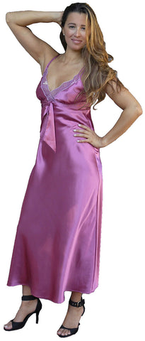 Women's Classic Charmeuse Nightgown #6025