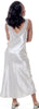 Women's Plus Size Blush Back Satin Nightgown #6068X
