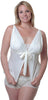 Women's Plus size Dull Satin Camisole Short Set #7067x