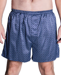 Men's Satin Printed Boxer Short # 8195/X