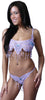 Women's Organza Beading Bra and G-string Set #DW09