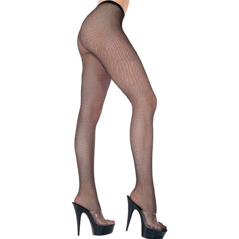 Music Legs Plus Size Classic Seamless Fishnet Pantyhose 9001Q