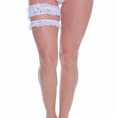 Women's Bridal Leg Garter Set # B304C/X