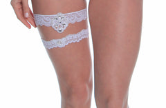 Women's Bridal Leg Garter Set # B308C/X