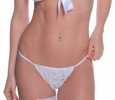 Women's Bridal Mesh G-String # B308B