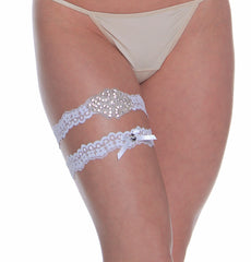 Women's Bridal Leg Garter Set # B333C/X