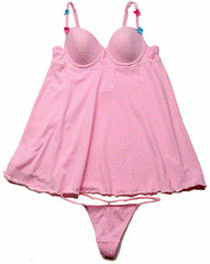 Biatta Juniors Cotton Molded Underwire Baby Doll FF018609, Pink, 36B