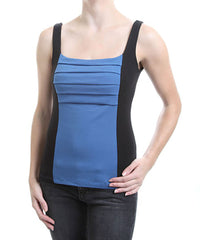 Blue Canoe Organic Fan Tank C727, Twilight/Black, M
