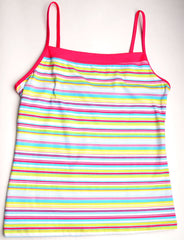 Calida Stripe Cotton Camisole #11331, size XS
