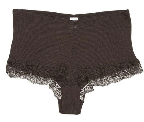 Calida Embrace Wool Silk Rib Boy Short Panty #25258