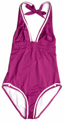 Huit One Piece Swimsuit 105, Cranberry, S
